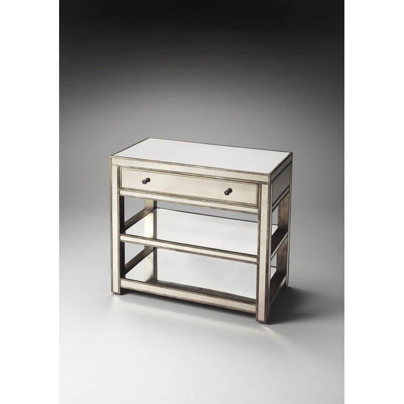 Butler Specialty Miranda Mirrored Console Table
