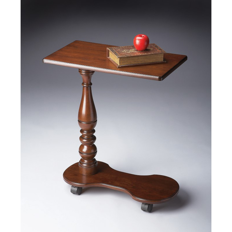 Butler Specialty Mobile Tray Table in Plantation Cherry