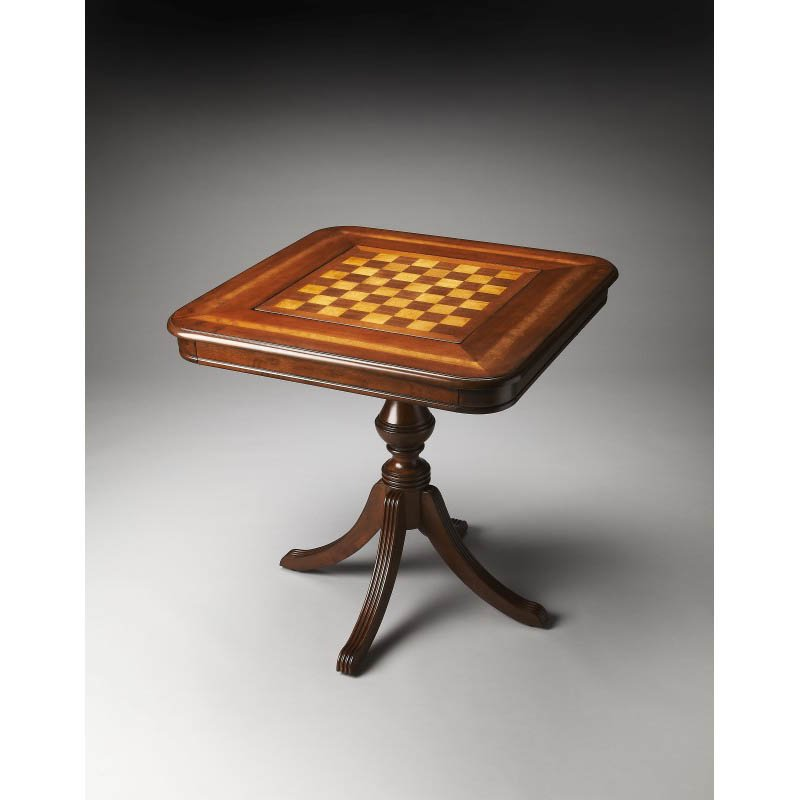 Butler Specialty Morphy Antique Cherry Game Table