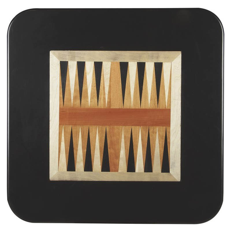 Butler Specialty Morphy Black Licorice Game Table