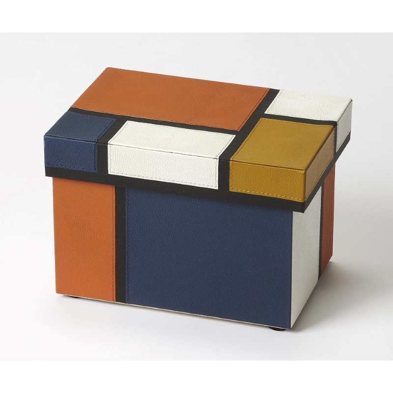 Butler Specialty Mosaic Leather Storage Box (3902016)