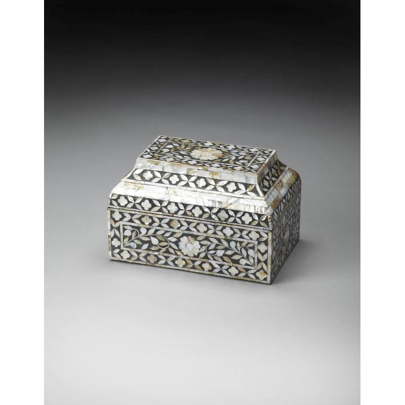 Butler Specialty Mother Of Pearl Storage Box
