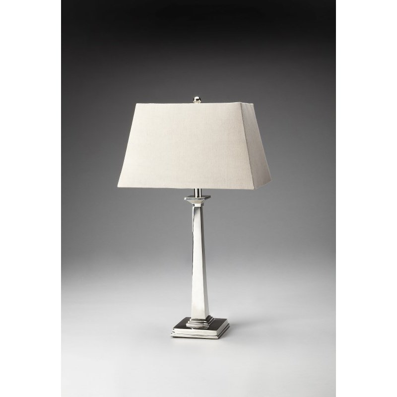 Butler Specialty Nickel Finish Table Lamp (7146116)