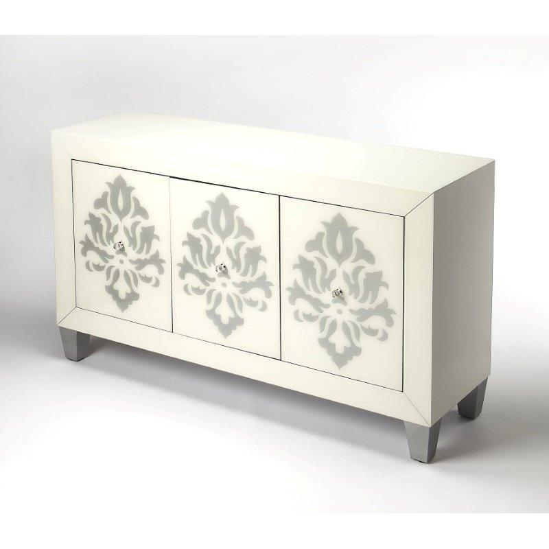 Butler Specialty Olana Damask 3 Door Cabinet (9206343)