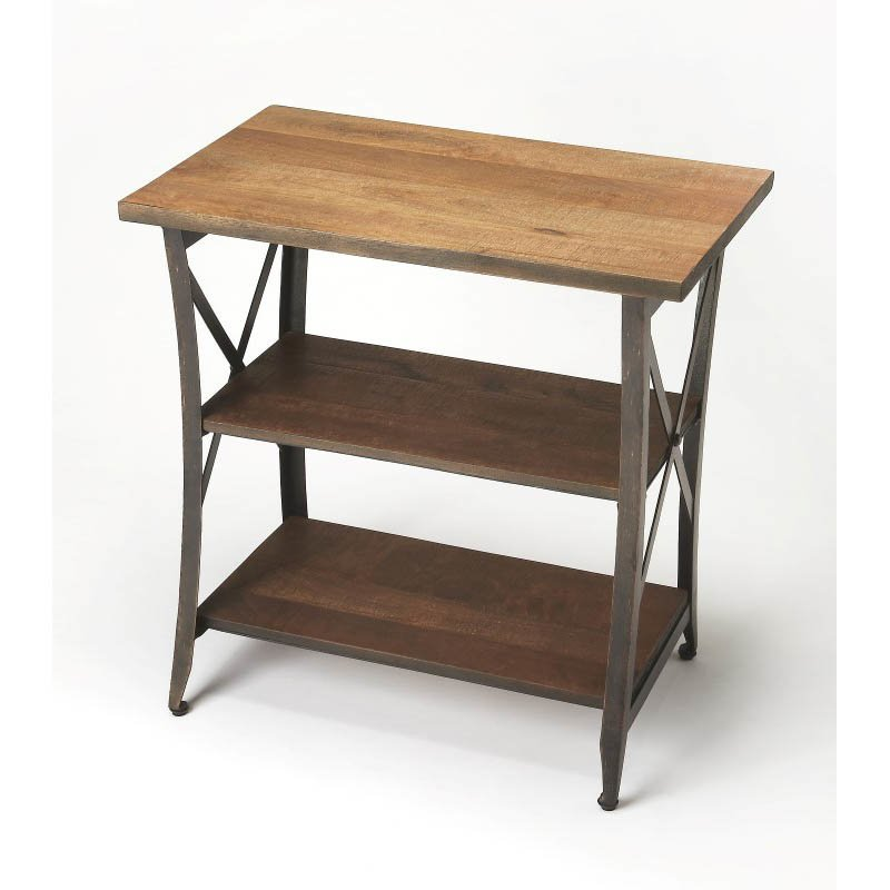 Butler Specialty Overton Industrial Chic Side Table