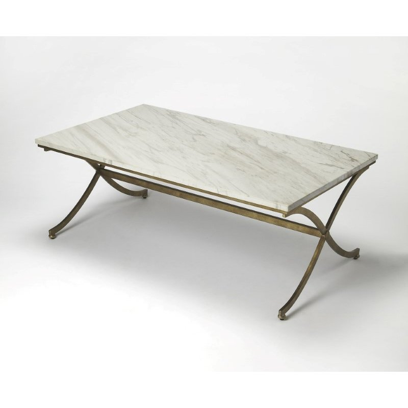 Butler Specialty Pamina Travertine Cocktail Table (9322355)