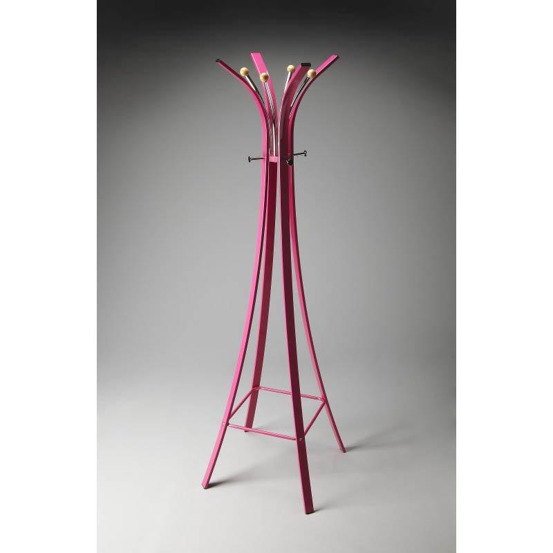 Butler Specialty Randolph Pink Metal Coat Rack