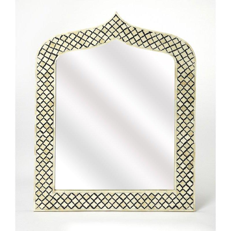 Butler Specialty Sara Bone Inlay Wall Mirror (5201318)