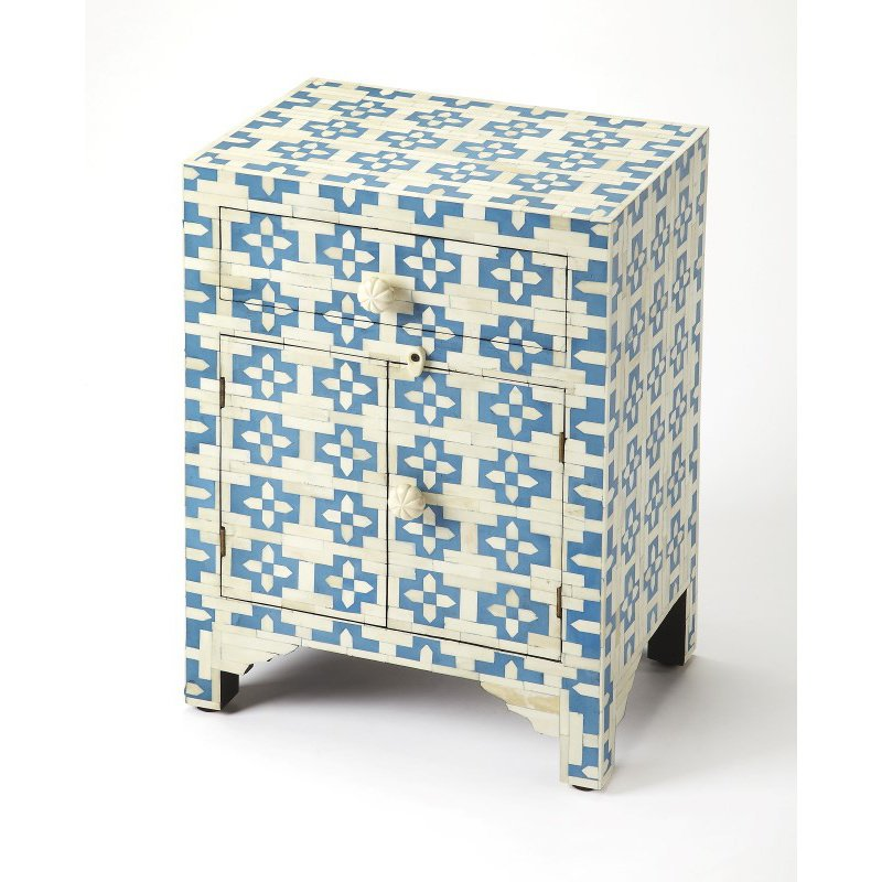 Butler Specialty Silvana Blue Bone Inlay Accent Chest (3884319)
