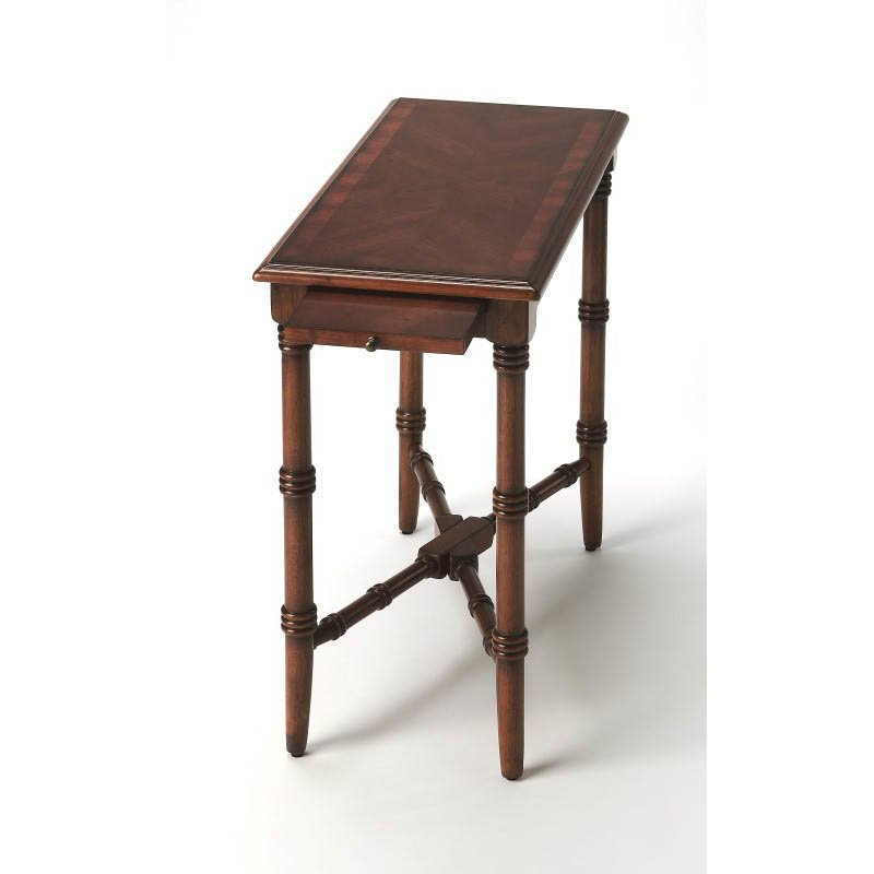 Butler Specialty Skilling Antique Cherry Chairside Table