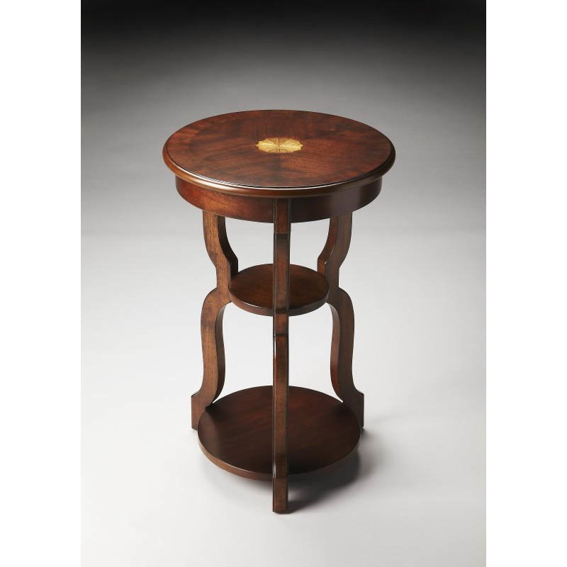 Butler Specialty Sloane Plantation Cherry Tiered Accent Table
