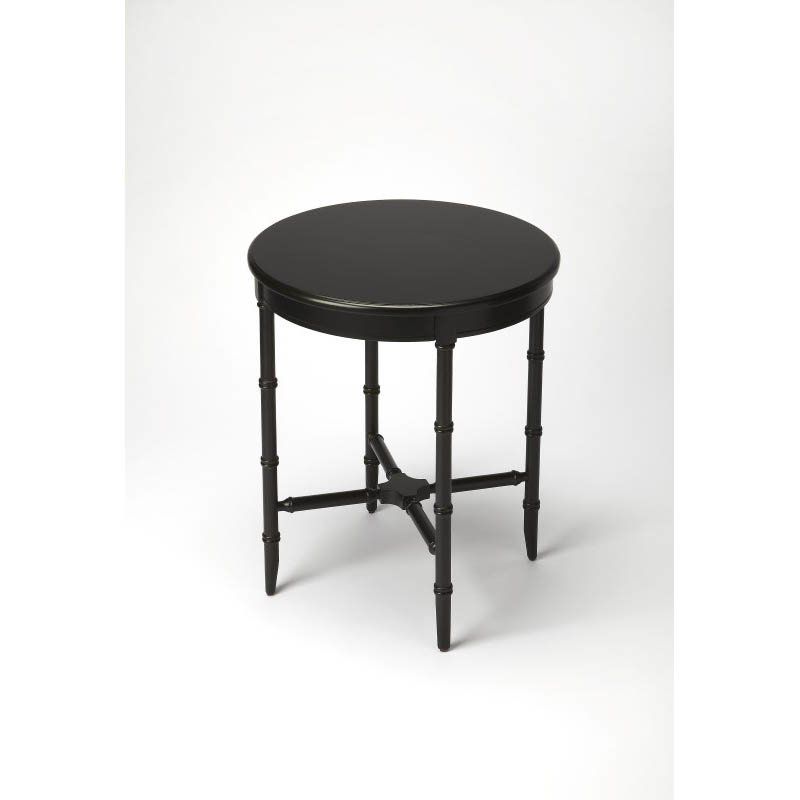 Butler Specialty Somerset Black Licorice Side Table