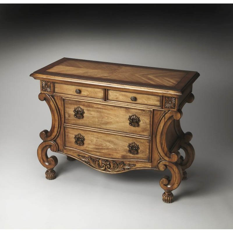 Butler Specialty Sonnet Inlaid Console Chest