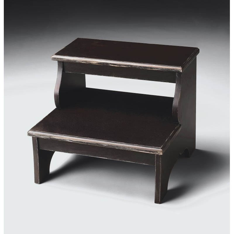 Butler Specialty Step Stool in Brushed Sable Finish