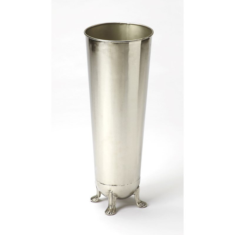 Butler Specialty Tanguay Polished Silver Umbrella Stand (9339025)