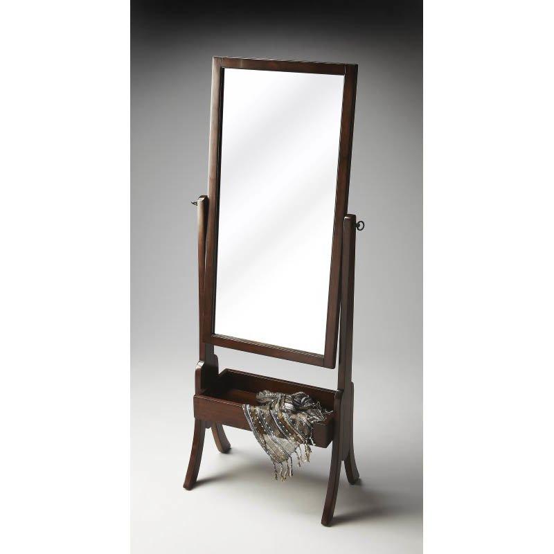 Butler Specialty Vista Espresso Cheval Mirror