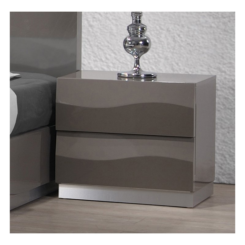 Chintaly Imports Delhi 2 Drawer Night Stand