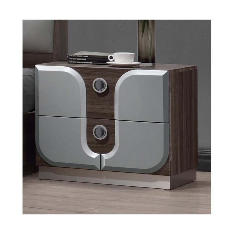 Chintaly Imports London 2 Drawers Night Stand