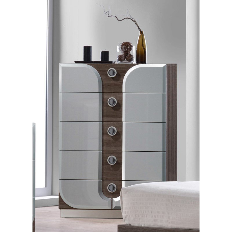 Chintaly Imports London 5-Drawer Chest
