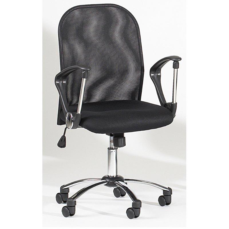Chintaly Imports Mesh Back Swivel Tilt Pneumatic Gas Lift Chair