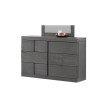 Chintaly Imports Sydney 6-Drawer Dresser