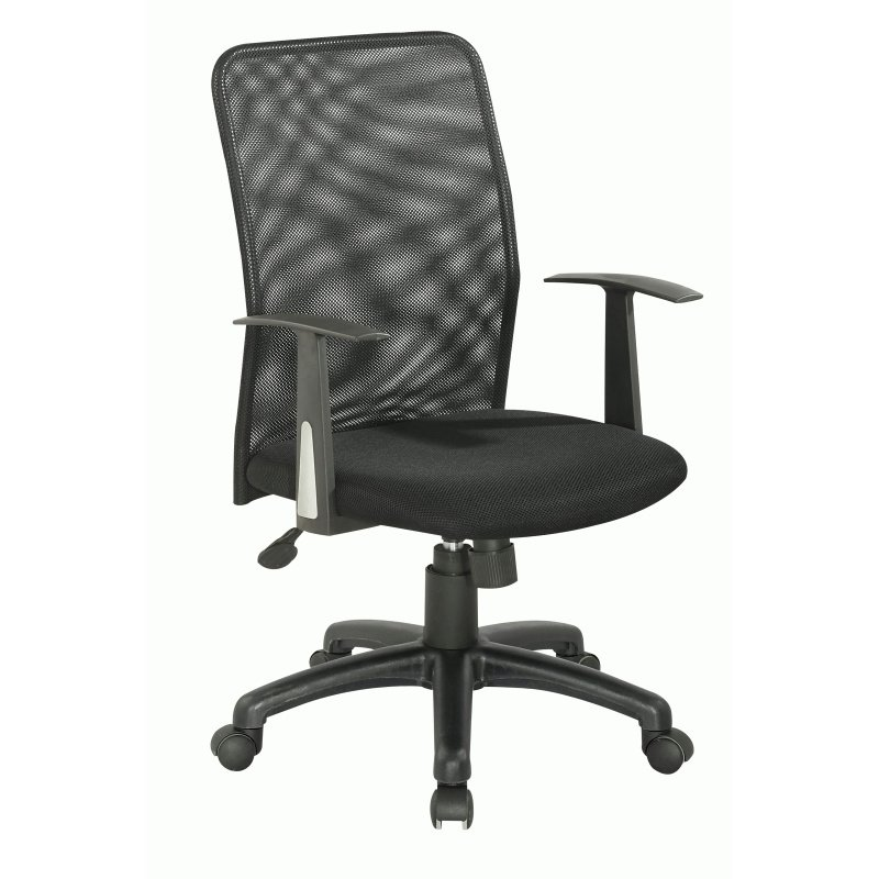 Chintaly Imports Upholstered Back Pneumatic Office Chair