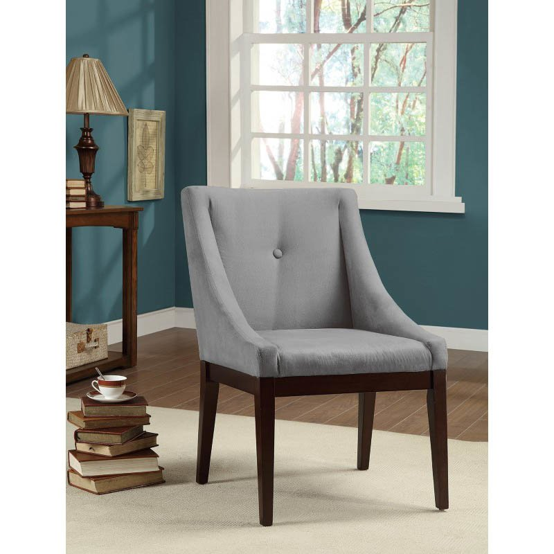 Coaster Alvarado Upholstered Dining Chair in Cappuccino Finish