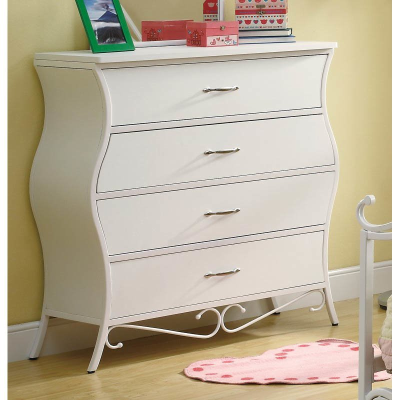 Coaster Bella Dresser in White
