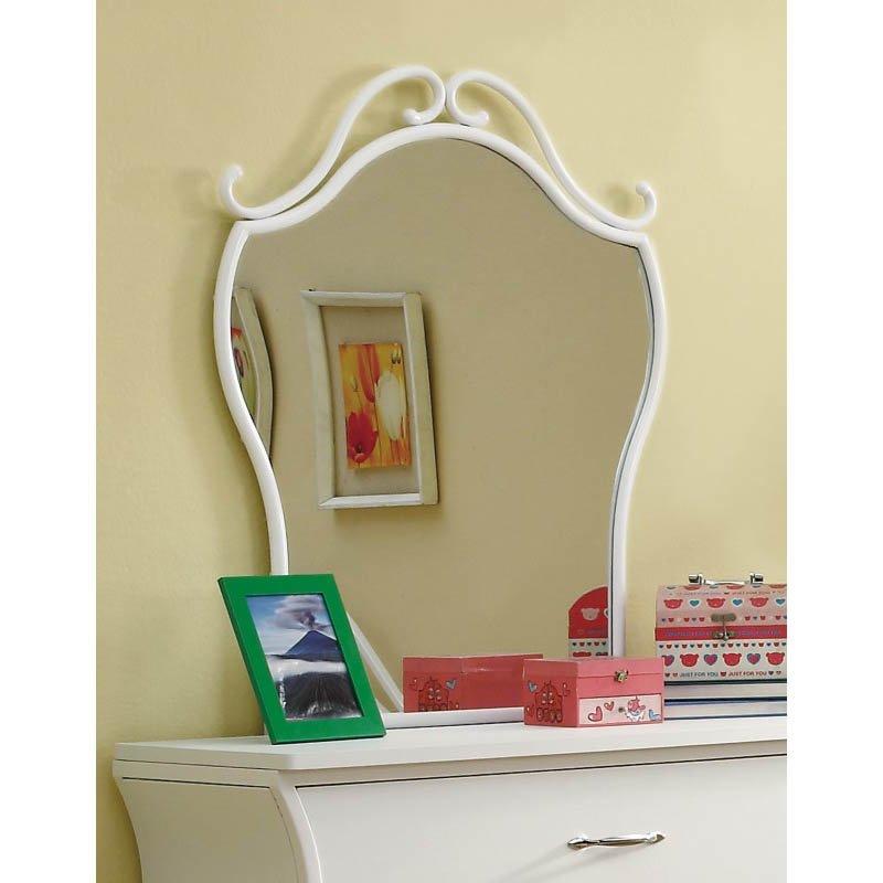 Coaster Bella Mirror in White