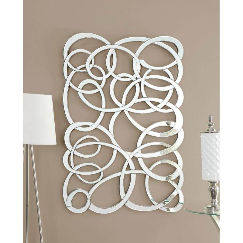 Coaster Decorative Swirl Wall Mirror