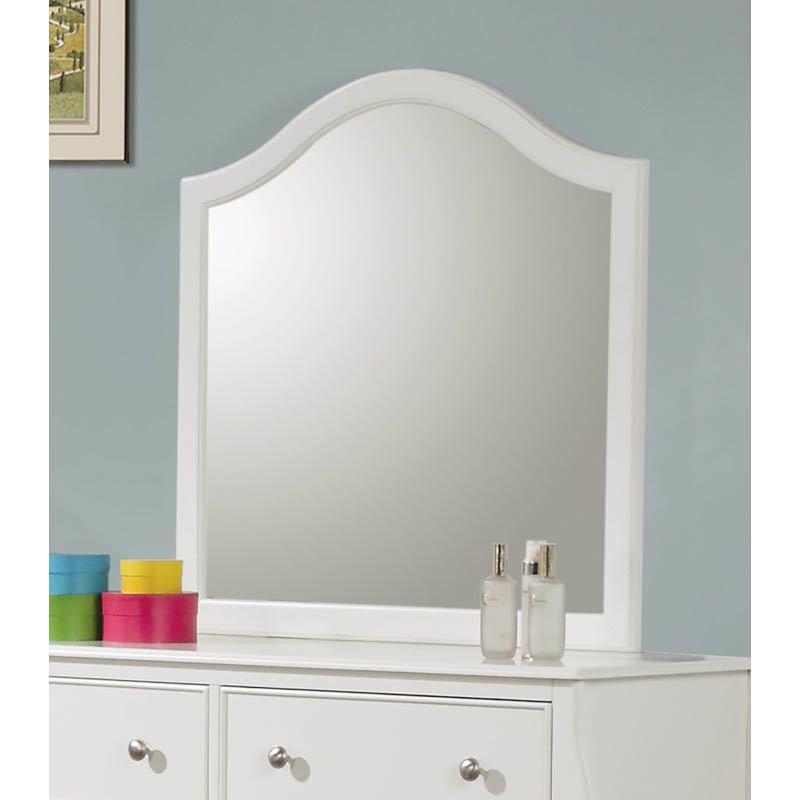 Coaster Dominique Mirror in White Finish