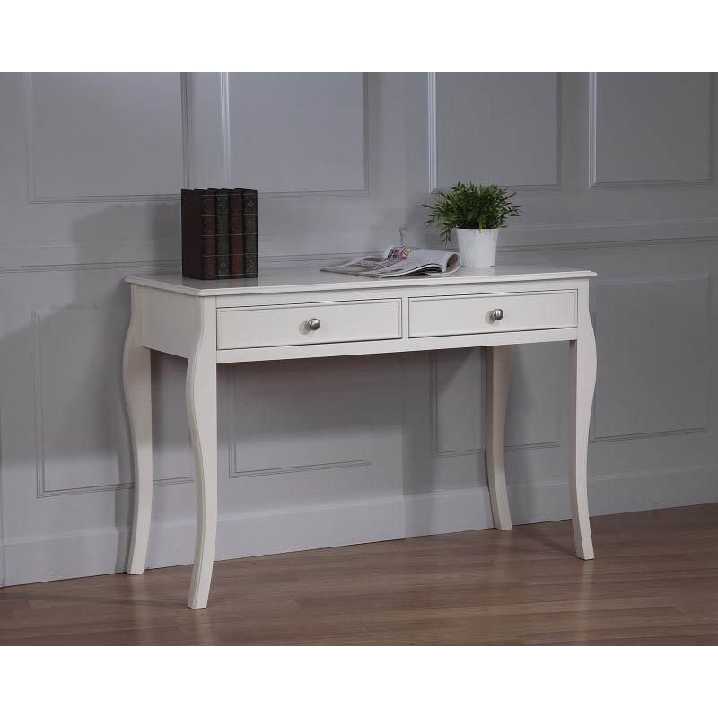 Coaster Dominique Table Desk in White