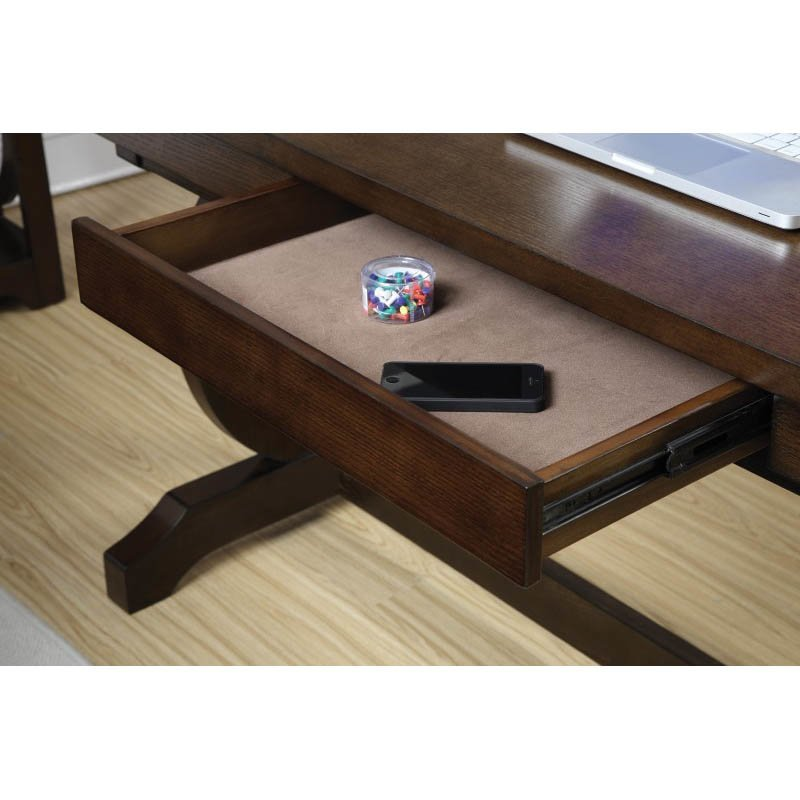 Coaster Enedina Home Office Desk in Chestnut
