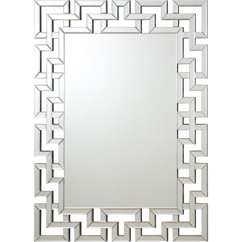 Coaster Greek Key Mirror