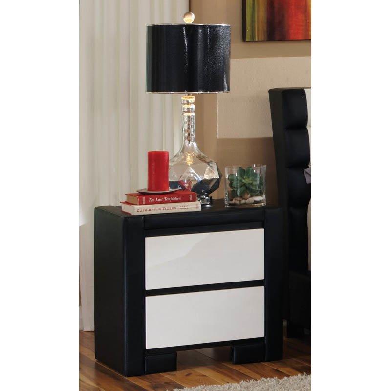 Coaster Kimball 2 Drawer Nightstand in White