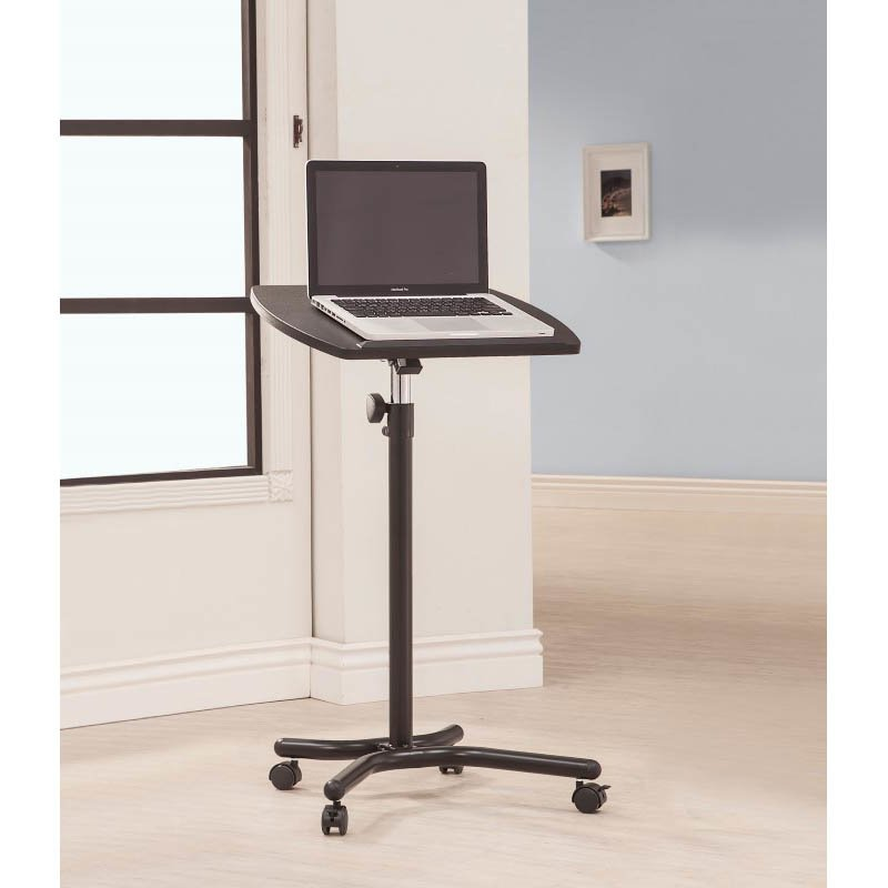 Coaster Laptop Stand Desk in Black