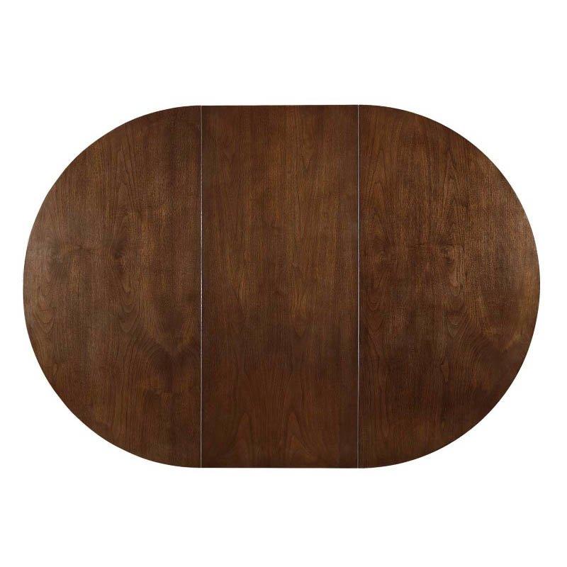 Coaster Malone Modern Dining Table in Walnut