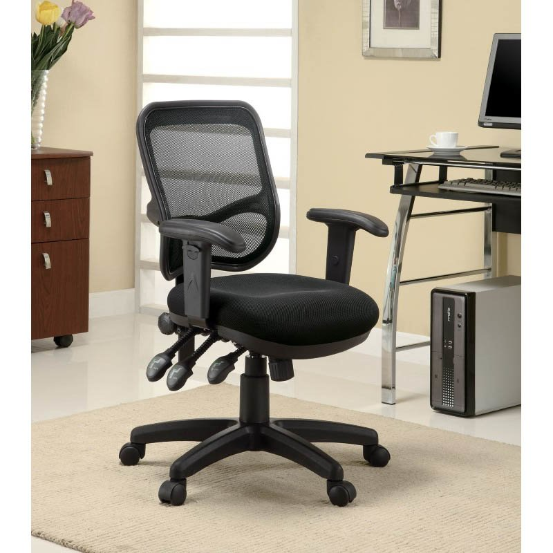 Coaster Office Chair Contemporary Mesh Office Task Chair