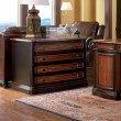 Coaster Pergola 2 Drawer File Cabinet in Cappuccino and Dark Oak