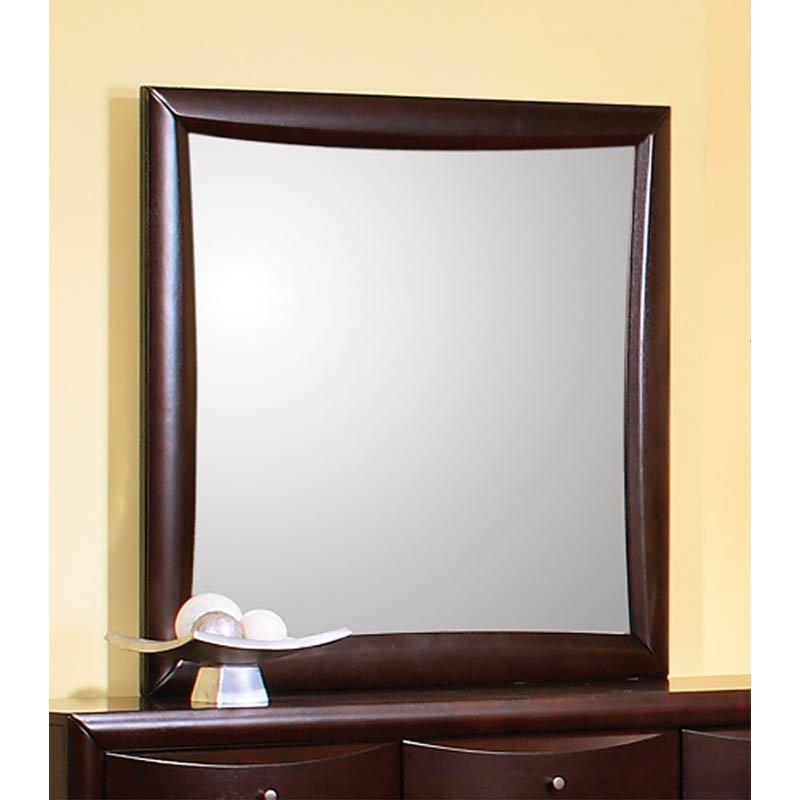 Coaster Phoenix Dresser Mirror in Rich Cappuccino Finish