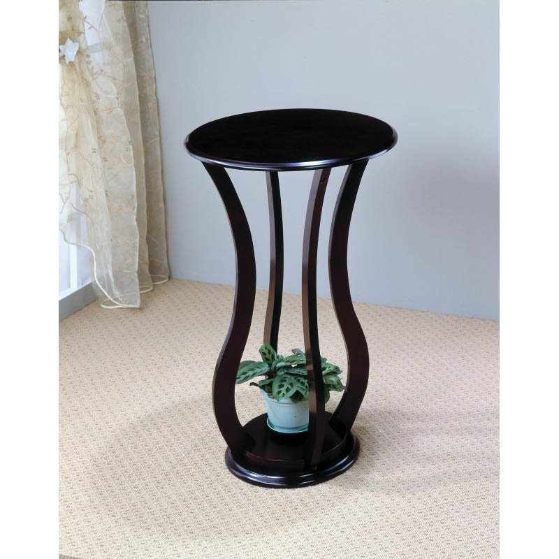 Coaster Round Plant Stand Table