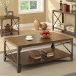 Coaster Wood Coffee Table in Brown