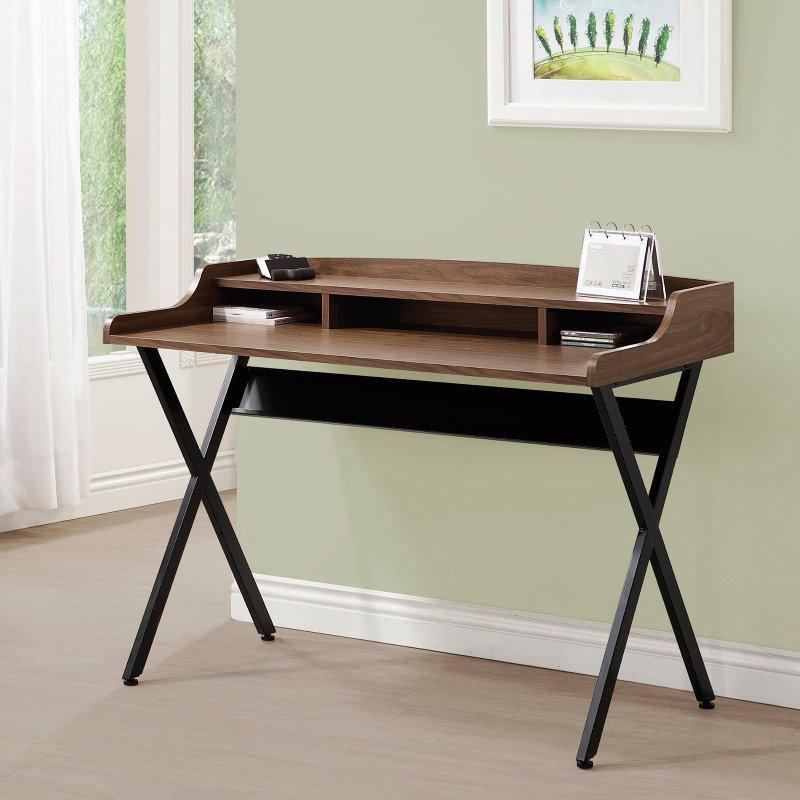 Coaster Writing Desk in Walnut