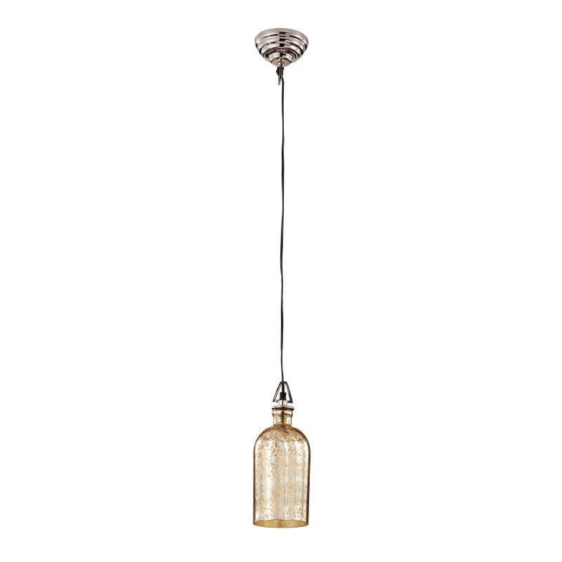 Dimond Home 1 Light Pendant in Antique Gold Mercury Glass (983-009)