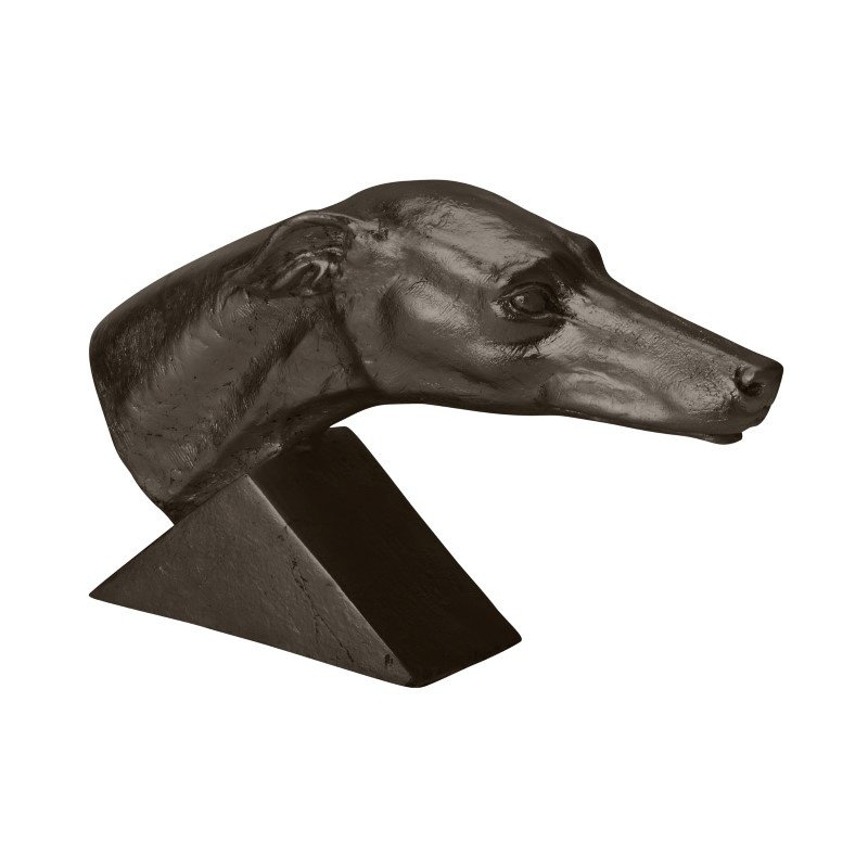 Dimond Home Aged Black Grand Greyhound (228014)