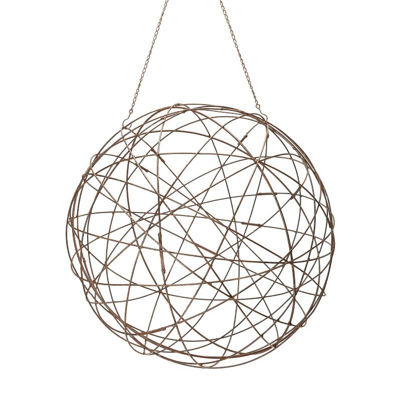 Dimond Home Aged Iron Wire Sphere - Large (594046)