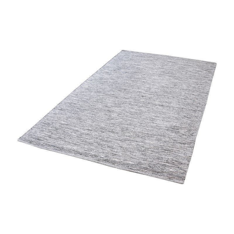 Dimond Home Alena Handmade Cotton Rug in Black And White - 3ft x 5ft (8905-001)