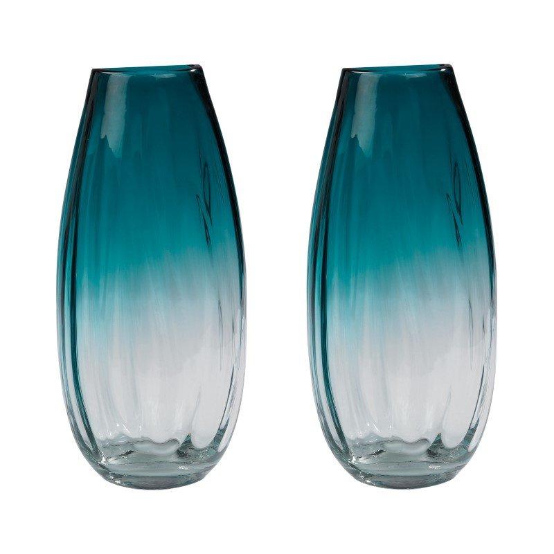 Dimond Home Aqua Ombre Vases (Set of 2) (154-016/S2)