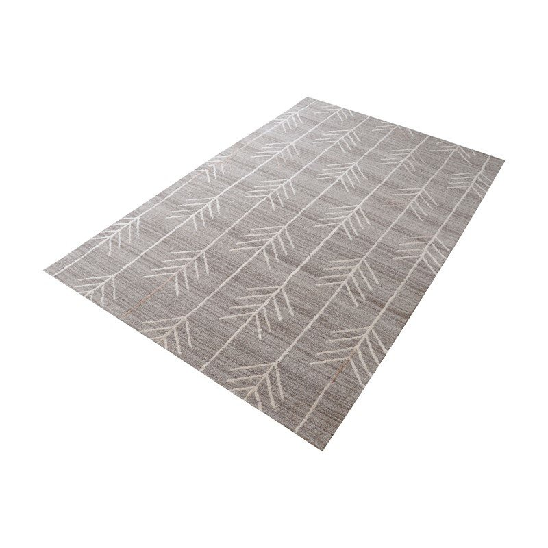 Dimond Home Armito Handtufted Wool Rug in Warm Grey - 3ft x 5ft (8905-100)
