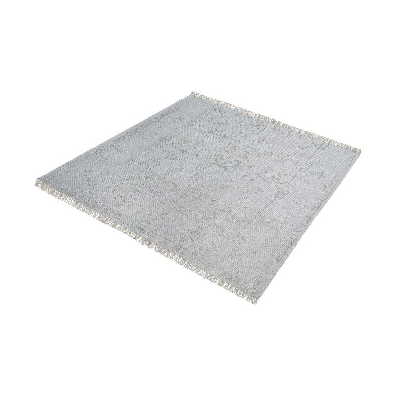 """Dimond Home Belleville Handknotted Wool And Bamboo Viscose Rug - 16"""" Square (8905-315)"""